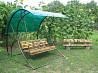 Садовые качели от производителя
