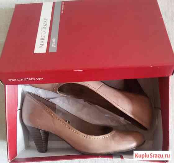 Туфли женские, натуральная кожа, Германия, р-38 Новосибирск