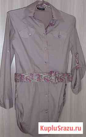 Блузка рубашка, Турция, р-44(46) Новосибирск