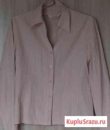 Блузка рубашка бледно-розовая, р-46 Новосибирск