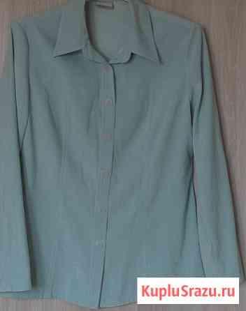 Блузка рубашка мятного цвета, р-46 Новосибирск