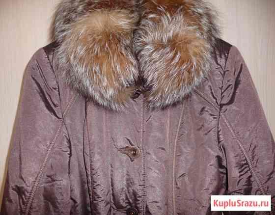 Куртка-пальто осень-зима 2 в 1, р-44(46) Новосибирск
