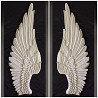 Крылья из гипса