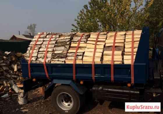 Сухие дрова (Колотые чурками) сосна, лествяк береза осина Иркутск