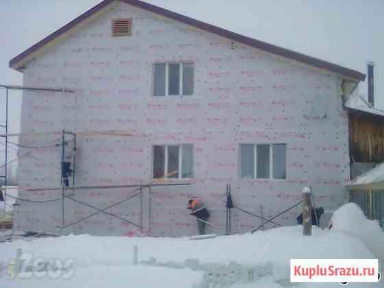 Дачное строительство, фасадные работы