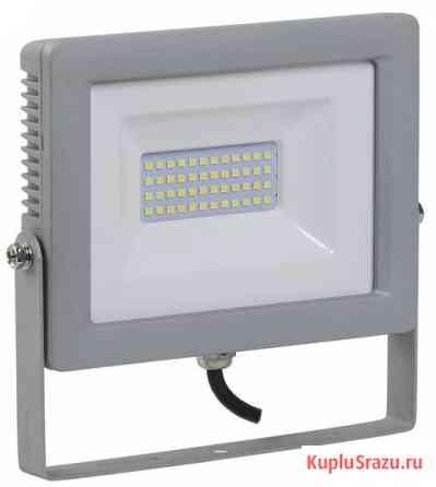 Прожектор светодиодный ДО-30w 6500К 2400Лм IP65 (СДО07-30) Екатеринбург