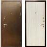 Металлическая Дверь Кондор 3 беленный дуб