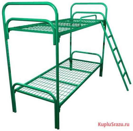 Двухъярусные кровати металлические для детских лагерей Калининград