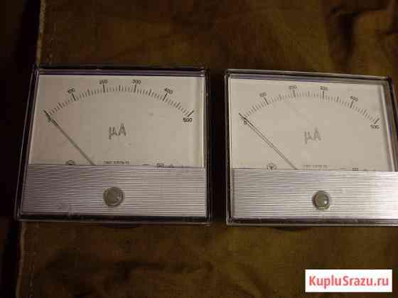 Два - прибора миллиамперметр М285К Челябинск