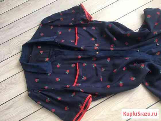 Блуза шелковая М новая Москва