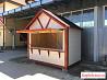 Ярмарочный торговый домик из дерева