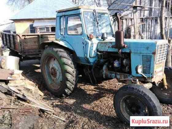Трактор+телега+плуг Злынка