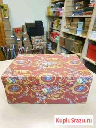 Подарочная коробка интерьерная Новосибирск