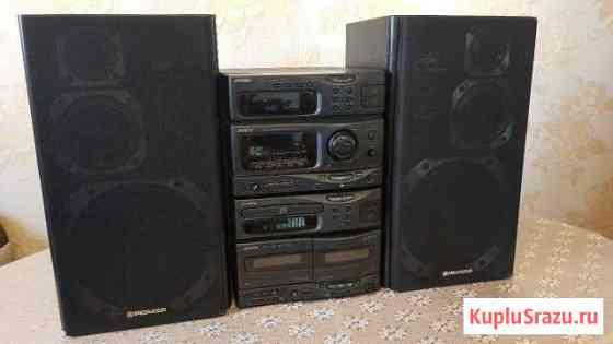 Колонки Pioneer + Аудио система Victor (JVC) Анадырь