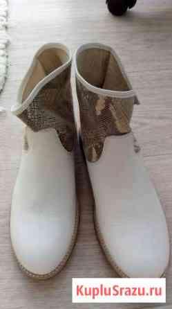 Новые ботинки из Италии Roberto Cavalli Сургут