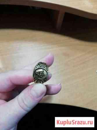 Кольцо мужское, Печатка Высоцк