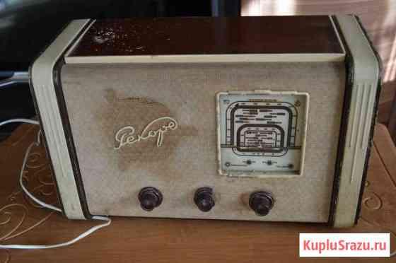 Ламповый радиоприемник Рекорд-53 Благовещенск