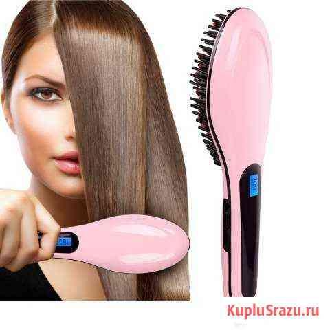 Электрическая расческа-выпрямитель Fast hair strai Москва