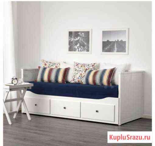 Продам кровать икеа хэмнэс двухспальная Южно-Сахалинск