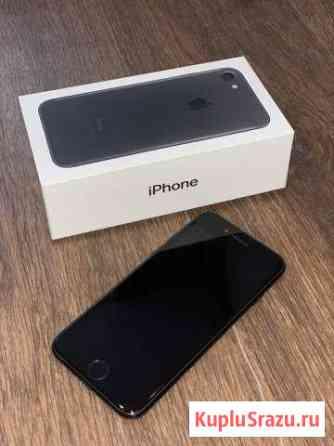 Продам iPhone 7 black 128 gb Южно-Сахалинск
