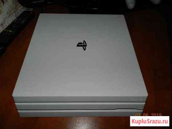 Игровая приставка PS4 PRO 1TBB white Маркова