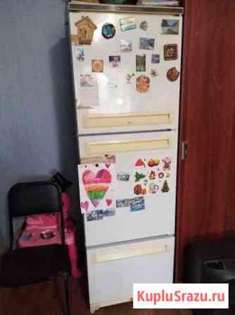 Холодильник stinol 3х камерный рабочий, б/у Омск