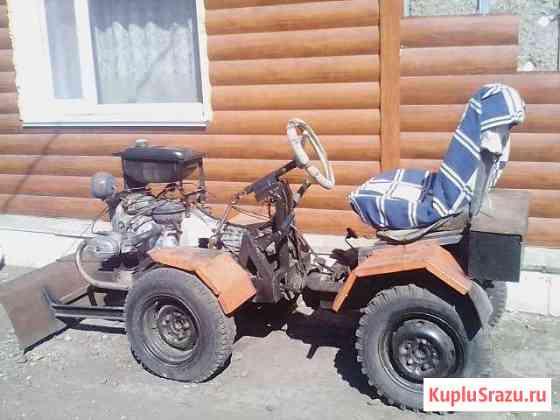 Самодельный трактор Идринское