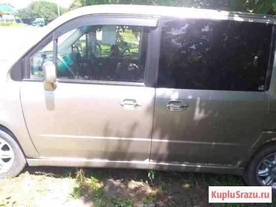 Honda Mobilio 1.5CVT, 2003, минивэн, битый Воронежская
