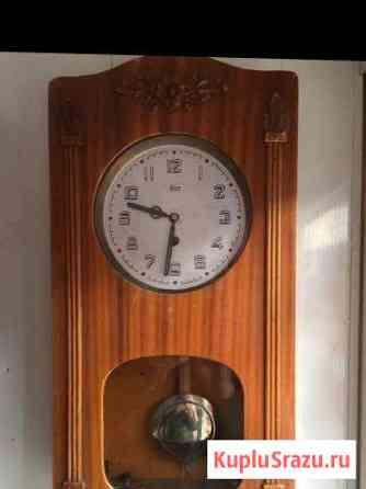 Часы настенные, марка «очз», 1951 год Краснодар