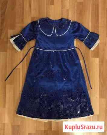 Платье бархатное нарядное на девочку Киров