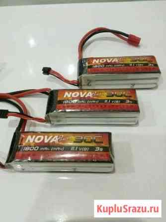 Силовые аккумуляторы Nova Power 1800 мАч Железнодорожный