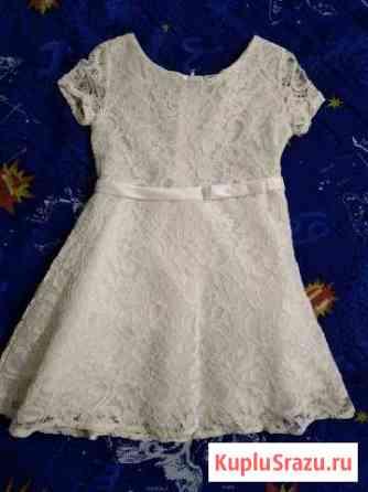 Платье новое 2-3 года Знамя Октября