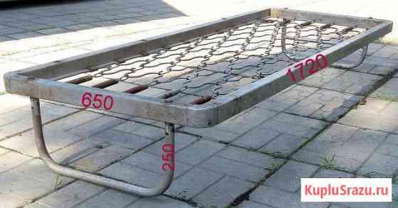 Кровать алюминиевая Приморск