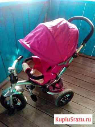 Детский велосипед трехколесный Серов