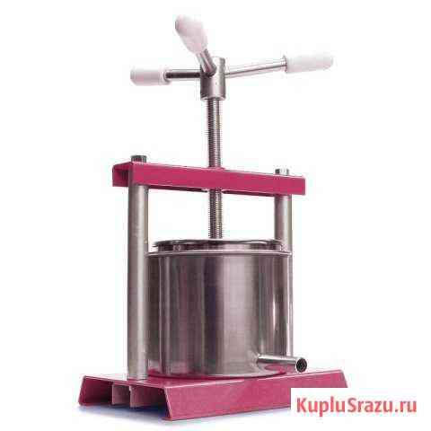 Пресс винтовой ручной для отжима сока масла сыра Брянск