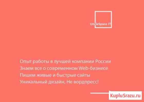Разработка сайтов и приложений (SEO, реклама) Сыктывкар