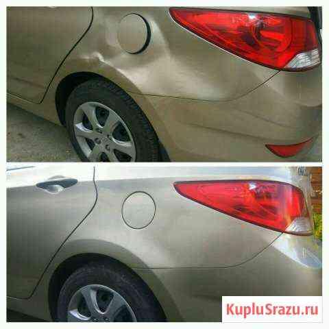 Кузовной ремонт и покраска автомобилей Отрадное