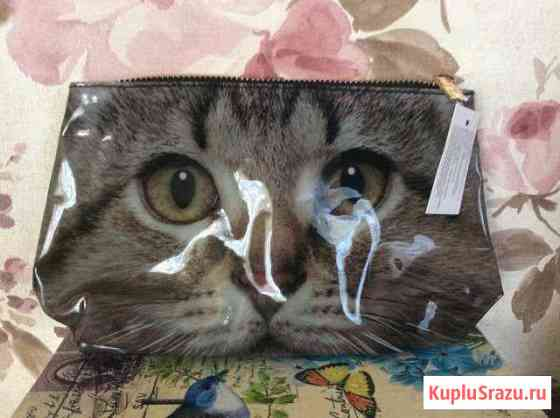 Новая косметичка Серый кот Оренбург