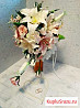 Лепка букетов и цветочных композиций на заказ