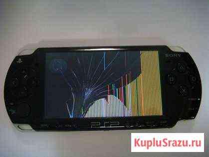 Замена разбитого дисплея PSP Челябинск
