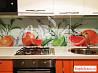Стеклянный фартук для кухни (скинали)