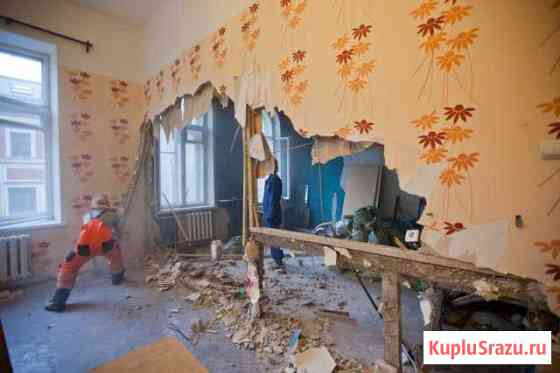 Демонтаж квартир и помещений, аккуратно Волгоград