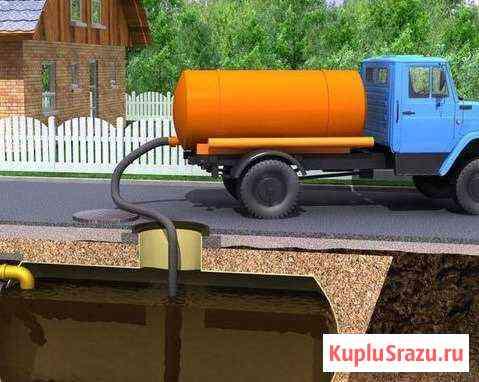 Откачка септиков, туалетов Тахтамукай