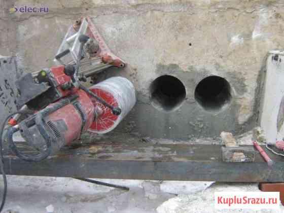 Бурение отверстий под сантехнику резка бетона Иркутск