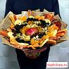 Букеты из фруктов и сладостей
