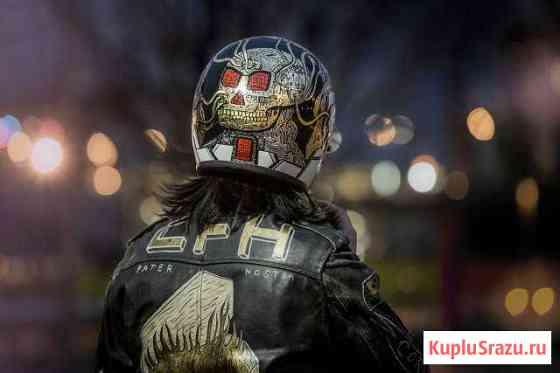 Декоративная роспись шлемов Калининград