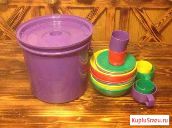 Набор пластиковой посуды Калязин