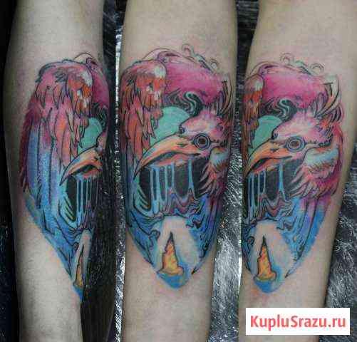 Художественная татуировка Ярославль