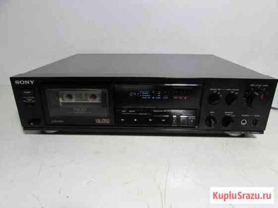 Sony TC-K600ES Трехголовая кассетная дека 1988г Санкт-Петербург