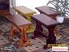 Скамеечка деревянная